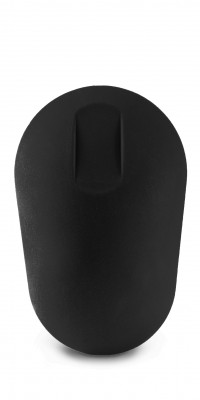 Wireless black mouse top