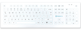 purekeys full size medisch toetsenbord